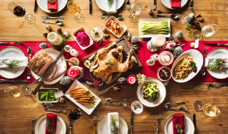 Los 7 platos mas preparados en navidad